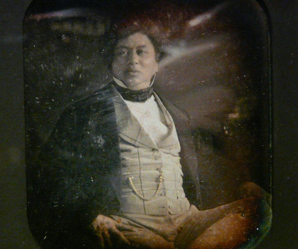 Alexandre Dumas Daguerréotype